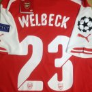 Arsenal #23 Welbeck. jersey Size Large