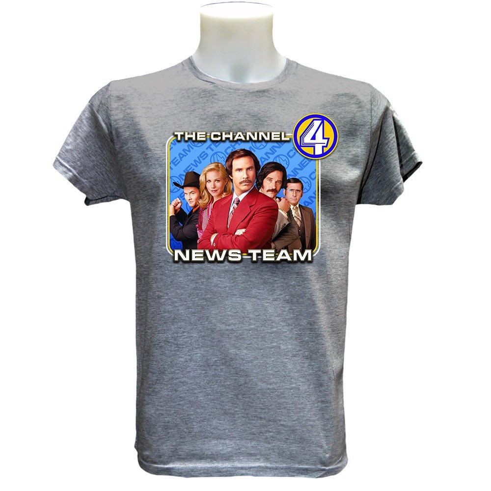 Anchorman Movie T Shirt (S-2XL) Ron Burgundy