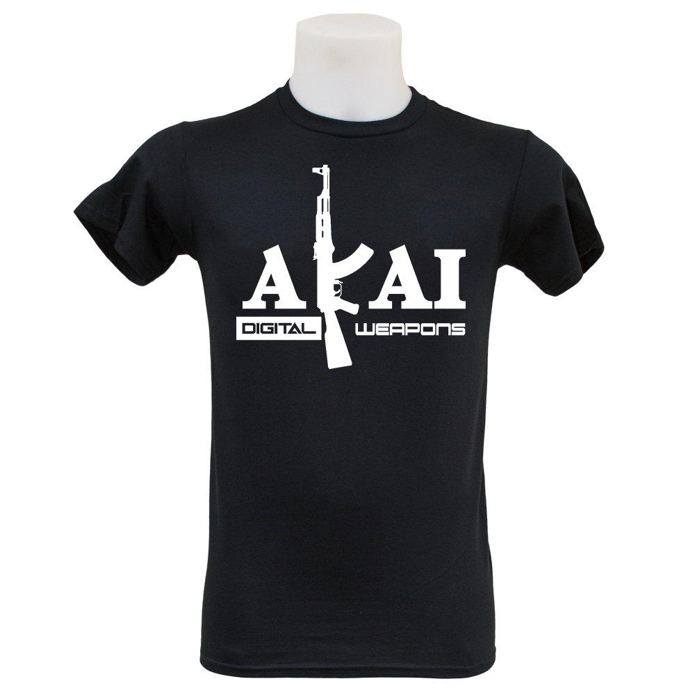 Akai Digital Weapons T Shirt (S-3XL) Roland Technics Pioneer
