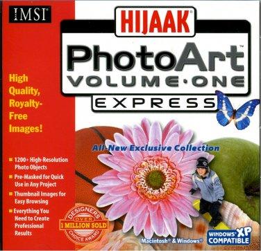 HIJAAK PHOTOART EXPRESS - VOLUME ONE (#1)