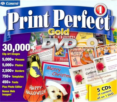 PRINT PERFECT GOLD (DVD) (#3)