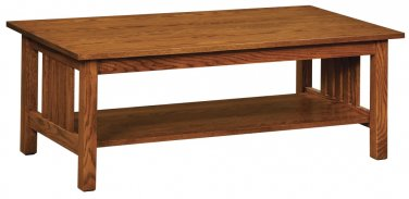 Amish Mission Oak Wood Living Room Tables Coffee Rustic