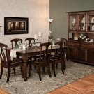 Amish Rectangle Dining Table Leg Cottage Traditional Classic Wood Furniture