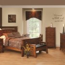 Amish Luxury Bridgeport Mission Bedroom Set Solid Wood Bedroom Furniture Queen