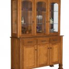 Amish Hutch Dining Room Buffet Server China Cabinet Hutches Solid Wood New