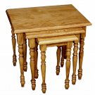Amish Nesting Stacking Tables Nested Side End Snack TV Trays Television Wood New