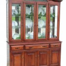 Amish Legacy Dining Room Hutch Traditional China Cabinet Solid Wood