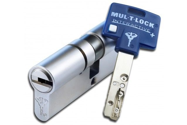 NEWEST !!! MUL T LOCK INTERACTIVE PLUS SUPER! CYLINDER DOOR LOCK HIGH SECURITY