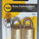 YALE GYM PADLOCK LOCK LOCKER SUITCASE TRAVEL BAG LOCK SMALL PADLOCKS KEYED ALIKE