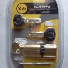Yale smart door lock cylinder high security euro profile cog wheel gear + knob