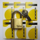 6 X YALE PADLOCK KEYED ALIKE 40MM HIGH QUALITY LOCK LOCKSMITH SAME KEY LOT