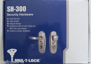 MUL T LOCK SH 300 Hardware for 265 Lock case/ MPL210 Cover Plates lever full set