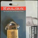 10 X ALBA BRASS PADLOCK 40MM HIGH QUALITY LOCK GATE STORGE TOOL BOX SHED ASSA AB