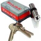2 X ALBA keyed alike cylinder lock Upvc Door Lock euro profile same key twins