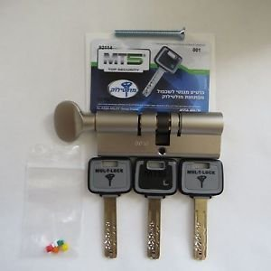MT5+ Mul-t-lock Cylinder High security 85mm 40+45 mm euro profile Tumbturn new