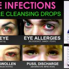 Natural Eye Drops for Pink Eye and Eye Infections Pure Cleansing Drops