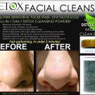 NATURAL DETOX FACIAL CLEANSER BLACKHEAD REMOVER PORE SCRUBBER CHARCOAL SOAP MASK