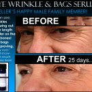 BEST NATURAL EYE WRINKLE TREATMENT & EYE BAGS TREATMENT 2 IN 1 PRODUCT