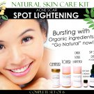 Natural Skin Care Kit For Acne Scar Spot Lightening and Acne Care Complete Set of 6
