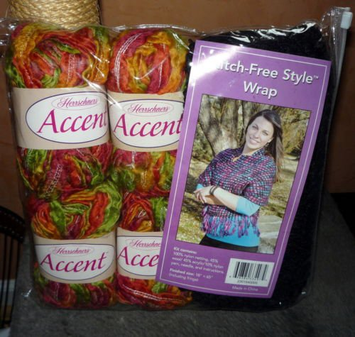 "HERRSCHNERS Accent Stitch Free Style Wrap Kit 18"" x 65"""