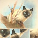 Pet portrait 50x70 cm drawing with pencil commission cat dog bird handmade picture from Italy