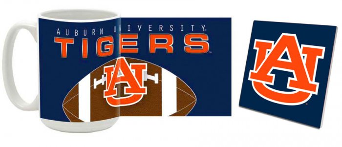Auburn Mug and Coaster Combo MCC-ALAU5