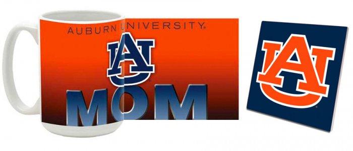 Auburn Mug and Coaster Combo MCC-ALAU8