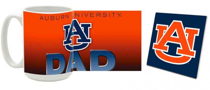 Auburn Mug and Coaster Combo MCC-ALAU9