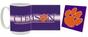 Clemson Mug and Coaster Combo MCC-SCCLEM4