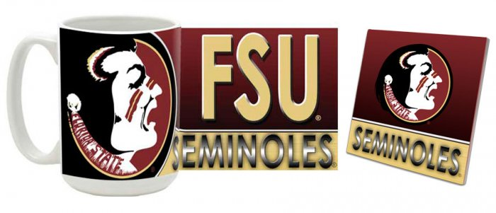 Florida State Mug and Coaster Combo MCC-FLSU1