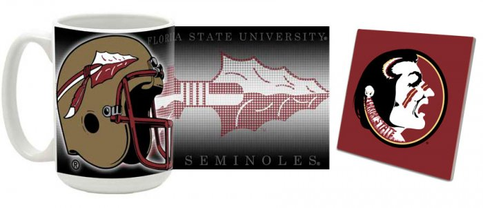 Florida State Mug and Coaster Combo MCC-FLSU2