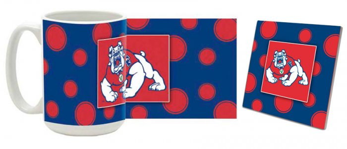Fresno State Mug and Coaster Combo MCC-CAFSUPD