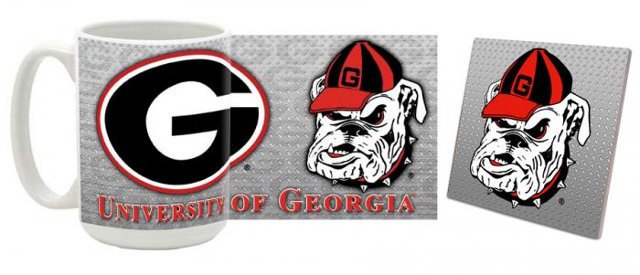 Georgia Mug and Coaster Combo MCC-GA4