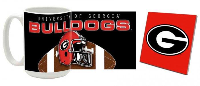 Georgia Mug and Coaster Combo MCC-GA5