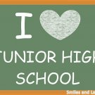 I Love Junior High School, Printable Poster