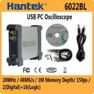 Hantek 6022BL PC USB oscilloscope 20MHz + 16 Channels Logic Analyzer