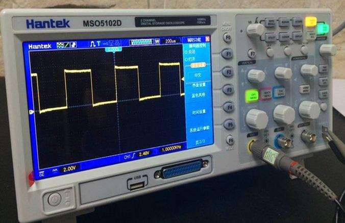 Hantek MSO5062D MSO5102D MSO5202D Mixed Signal Scope 60-200MHz 2CH A +16CH D