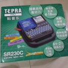 KING JIM Tepra Pro SR230C handheld Label Writer 4-18mm tape (Chinese/ENG word)