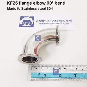 KF25 flange Elbow 90 degree stainless steel 304 vacuum adapter