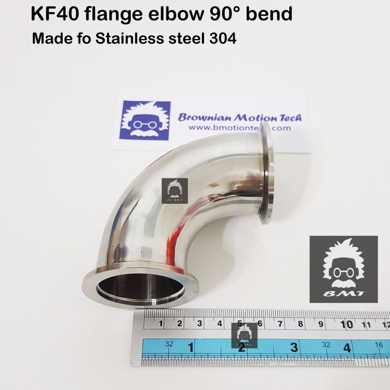 KF40 flange Elbow 90 degree stainless steel 304 vacuum adapter