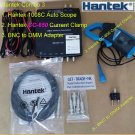 Combo 3 of Hantek 1008C scope + CC-650 AC/DC Current Clamp + BNC to DMM adapter