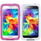 Samsung Galaxy S5 Lifeproof Waterproof FRE Case  Magenta / White NEW GENUINE