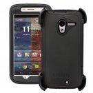 Motorola Moto X Black 1st Gen OtterBox Defender Series Case & Holster Clip