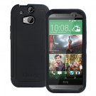 HTC One M8 Defender Series Case &Belt Clip Holster Black Genuine OEM by OtterBox