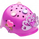 New OEM Princess 3D Helmet Bike Cycle Hat Head Gear - Pink
