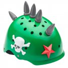 Brand New Spikes 3D Helmet Bike Cycle Hat Head Gear - Green