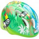 New OEM Jungle Infant Helmet Bike Cycle Hat Head Gear - Green/Blue