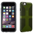 Brand New Grip Case for Apple iPhone 6 Moss Green  Black CandyShell