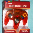 Brand New  N64 Gamepad Controller (Nintendo 64) red