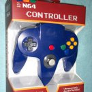 Brand New Blue N64 Controller - New in Box (Nintendo 64) Classic Joypad Design